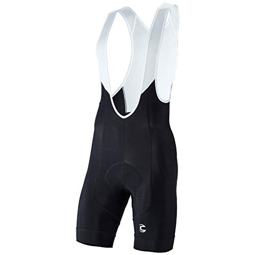 Cannondale Men's Elite Bib Shorts, White, -