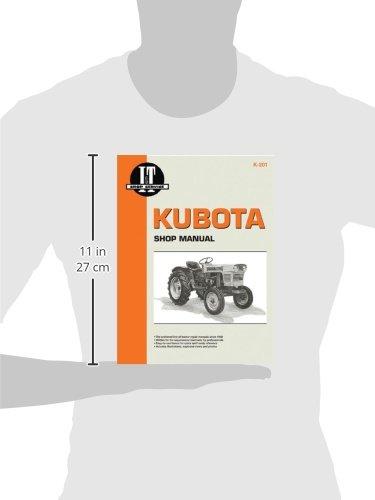 Kubota Shop Manual (I & T Shop Service Manuals): Penton