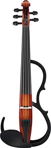 (Yamaha Silent Series SV-255 Electric Violin - Shaded Brown)