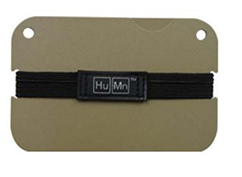 HuMn Cerakote Desert Camel Wallet Mini RFID Blocking Money Clip