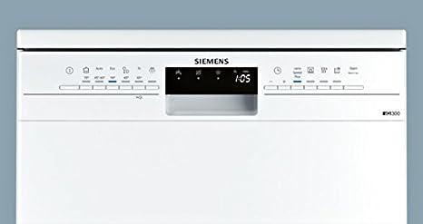 Siemens iQ300 SN236W03ME lavavajilla Independiente 14 cubiertos A ...