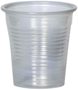 PZ 600 BICCHIERI PER CAFFE CL 8 TRASPARENTE CAFFE COFFEE AND HOT DRINKS PLASTIC CUP TRANSPARENT