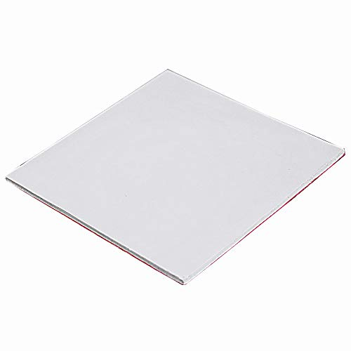 Wathai Off-White 100x100x2.5mm 2.5mm Cooling Silicone Pad Thermal Conductivity 1.5 W/mk Thermal pad for GPU CPU PS3 PS2 Xbox Heatsink