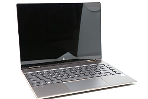 "HP Spectre x360 13t Touch Laptop i7-8550U Quad Core,16GB RAM,512GB SSD,13.3"" IPS FHD Touch, Gorilla Glass, Win 10 Pro Pre-Installed by HP, Dark Ash Silver, 3 YRS McAfee Internet Security Antivirus from HP"