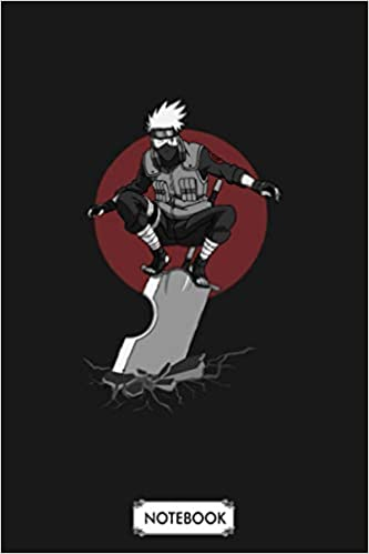 Kakashi Notebook: 6x9 120 Pages, Journal, Lined College Ruled Paper, Matte Finish Cover, Planner, Diary