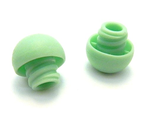 Syringe Caps for Pets fit Slip leur and Lock luer GREEN (100 caps)