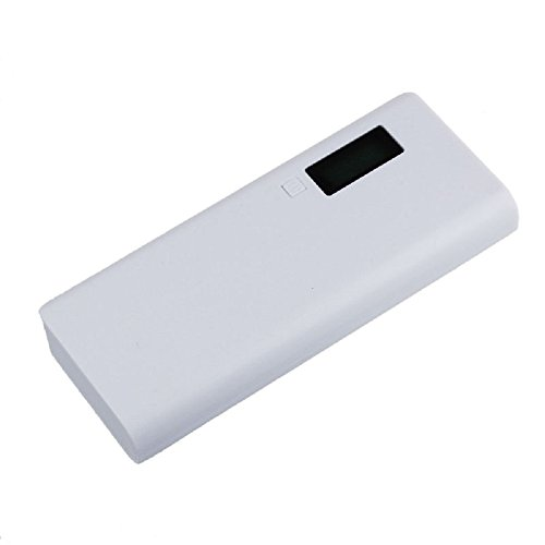 Damark 5V 2A USB 18650 Power Bank Battery Box Charger For iphone6 Note4 (white)