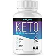 Keto Pills from Shark Tank - Weight Loss Supplement - Burns Fat Fast - Boost Energy and Metabolism - Best Keto Diet Pills - 60 Capsules