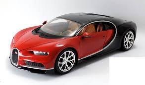 Bugatti Chiron Maisto 1/18 Special Edition Red (1 18 Diecast Car Bugatti)