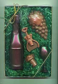 Chocolate Wine Gift Set - 5 pc.