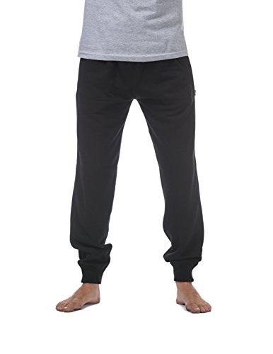 Pro Club Men's Jogger Fleece Long Pants, 2X-Large, Black
