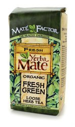 Mate Factor Organic Yerba Mate, Original Fresh Green, 12 Ounce