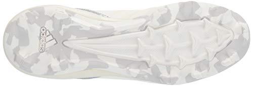 adidas Icon 4, Cloud White/Silver Metallic/Grey 4.5 M US Big Kid by adidas (Image #3)