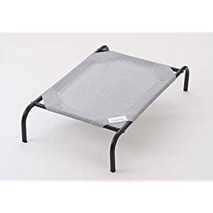 The Original Elevated Pet Bed by Coolaroo® – Large Grey Click on image for further info.