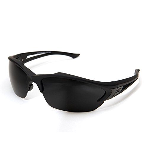 Edge Eyewear Acid Gambit 2 Lens Kit Matte Black Frame/Clear Vapor Shield, G-15 Vapor Shield Lenses