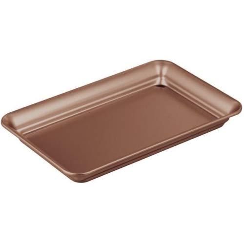 InterDesign Countertop Guest Towel Tray - Bathroom Vanity Organizer, Venetian Bronze ()