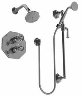 Watermark Beverly Thermostatic Shower / Hand Shower Kit Oil Rubbed Bronze