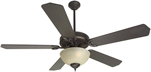 Craftmade K10629 Ceiling Fan Motor with Blades Included, (Oiled Bronze Cd)