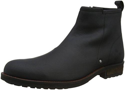 A Nero Boots Leather Joe West Coast Uomo Stivaletti Biker Browns Black Waxed PzATa4q
