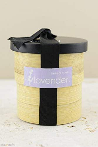 Lavender Grow Kit in Bamboo Pot - Wedding Event and Home Decor