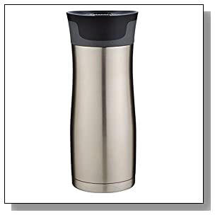 Contigo AUTOSEAL West Loop Vaccuum-Insulated Stainless Steel Travel Mug, 16  oz, Stainless Steel