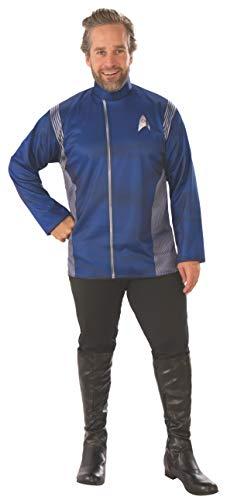 Rubie's Men's Star Trek Discovery Science Long Sleeve Costume Top, multi, Standard
