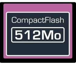 Dane Elec 512 MB Compact Flash Card