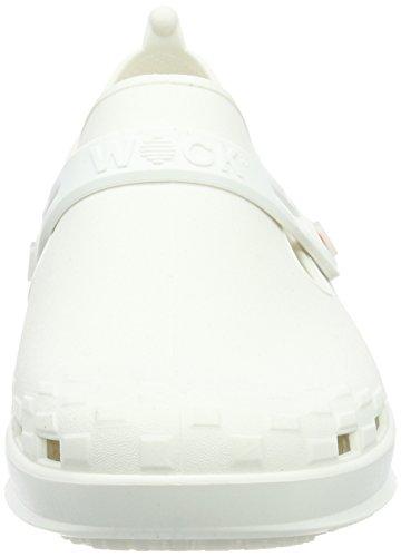 WOCK Unisex-Erwachsene Nexo Clogs Weiß (Weiss)