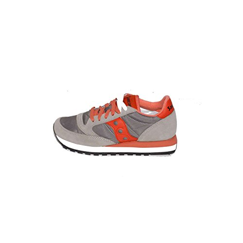 Shoes S1044 Low JAZZ 427 Women's RED Sneakers SAUCONY ORIGINAL Grey wOtnx44