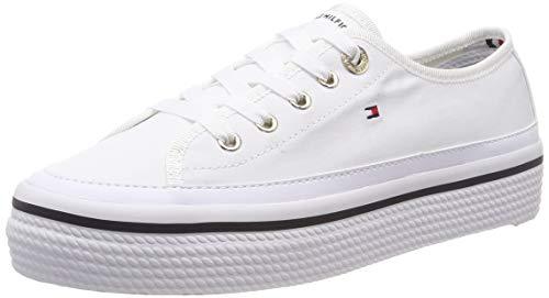 Tommy Hilfiger Damen Corporate Flatform Sneaker