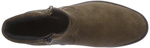 Comfortabel 990863 - zapatillas de ciclista de piel mujer beige - Beige (Taupe)