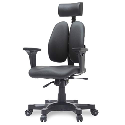 Duorest Gold Ergonomic Office Chair with Twin Backrests, Duorest...