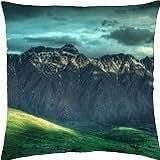 wondrous mountainscape - Throw Pillow Cover Case (18