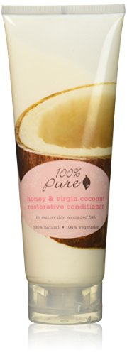 100% Pure Honey and Virgin Coconut Restorative Conditioner, 8.0 Fluid Ounce 100% Pure Organic Honey