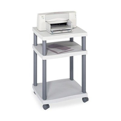 Safco Wave (Safco® Wave Desk-Side Printer Stand, 17-1/4 x 17-1/2 x 29-7/8, Charcoal Gray)