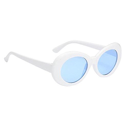 Soleil Designer Été Vintage Rétro blanc Hommes bleu Homyl Lunettes Extérieur Femmes Lunettes de qER8UIgw