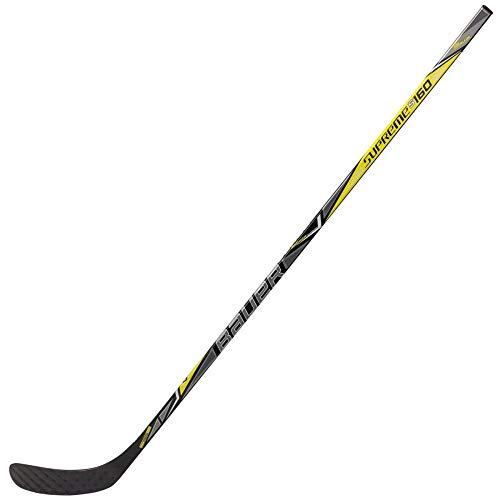 (Bauer Supreme S160 Grip Junior Hockey Stick - P92 52 Flex Left)