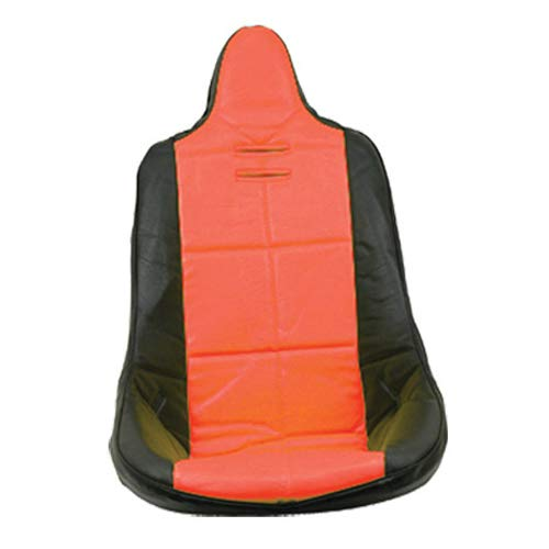 Buggy Seats Dune (Empi 62-2351 Red Vinyl High Back Poly Seat Cover. Dune Buggy Vw Baja Bug, Each)