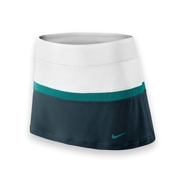 Nike - Falda de tenis Blanco/Verde