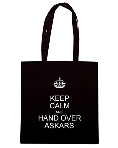 TKC3450 AND OVER CALM HAND Borsa Speed KEEP Nera Shirt Shopper ASKARS q7xZpwIf
