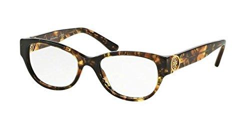Tory Burch TY2060 Eyeglass Frames 3144-50 - Yellow Tortoise - Frame Yellow Eyeglasses