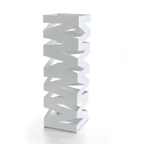 Topgoods 48,5cm Weiß metall Schirmständer Regenschirmständer, Werden verschenkt