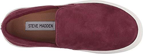 Suede Women's Steve M Sneaker Madden 9 Gills Burgundy Us fqq5XRn