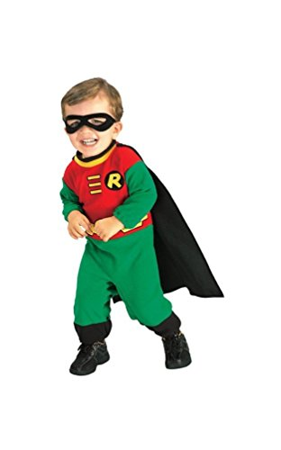 [Robin Infant Costume - Infant] (Famous Superhero Costumes)