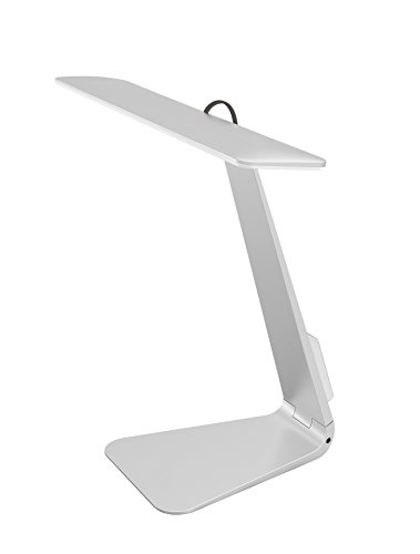 Desk Lamps, Touch Sensitive Rechargeable LED Desk Lamps Eye-Protecting, 3-Level Dimmable for Reading Working and Learning,Silver