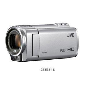 JVCKENWOOD JVC ビデオカメラ EVERIO 内蔵メモリー8GB シルバー GZ-E311-S