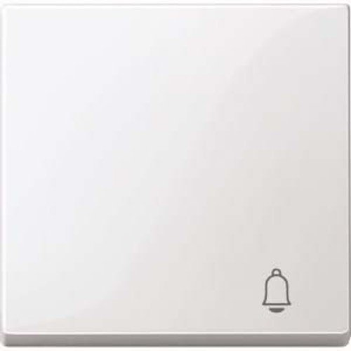 Merten Wippe with Labelling Chime System M Polar White Glossy, MEG33050319