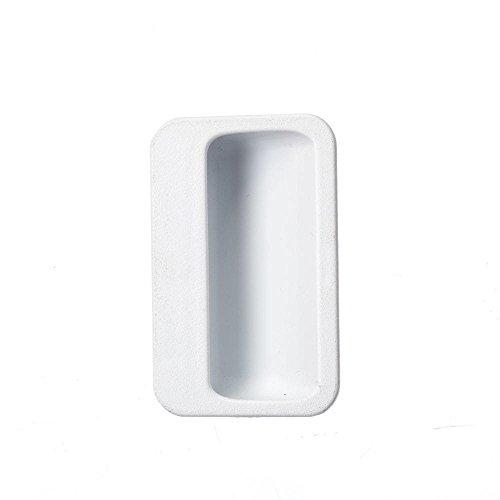 (Frigidaire 131789400 Laundry Center Dryer Door Handle (White) Genuine Original Equipment Manufacturer (OEM) Part for Frigidaire, Kenmore, White-Westinghouse, Crosley, Universal/Multiflex (Frigidaire))