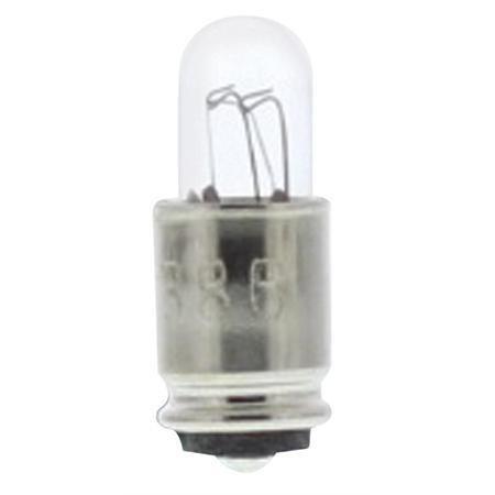 Midget Bolt (#386 Midget Grooved Base Bulb - T-13/4 Type - 14.0V .08A-2pack)