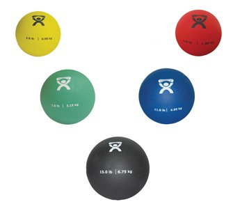 Cando P.T. Pliable Medicine Balls - Set of 5 by Fabrication